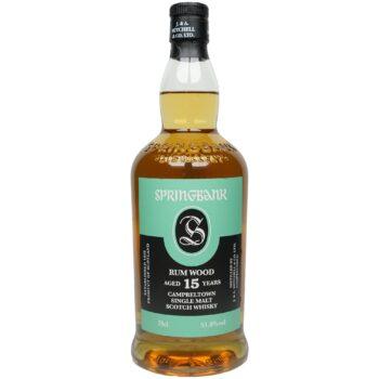 Springbank 15 Jahre Rum Wood