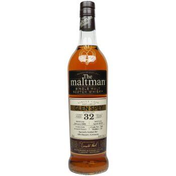 Glen Spey 32 Jahre 1988/2020 – The Maltman – Single Cask #7005