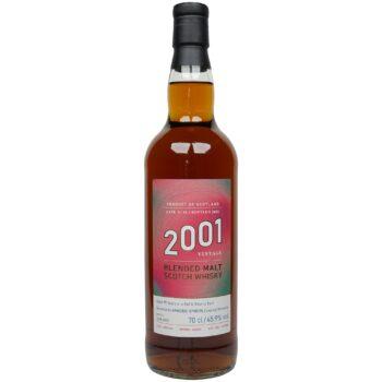 Blended Malt Scotch Whisky 19 Jahre 2001/2021 – Spheric Spirits – Single Cask #19