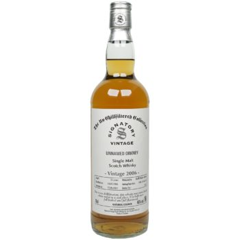 Unnamed Orkney 15 Jahre – 2006/2021 – Signatory Vintage – The Un-Chillfiltered Collection