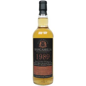 Speyside Region 28 Jahre 1989/2018 – Mancarella – Private Bottling – 93 Flaschen