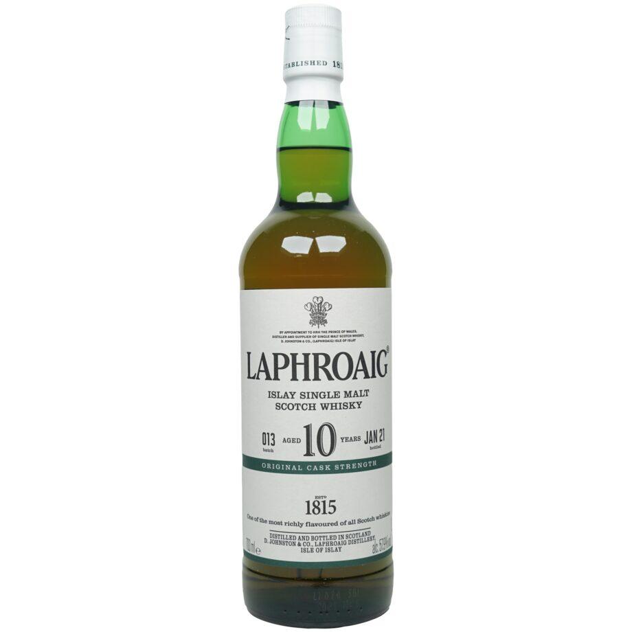 Laphroaig 10 Jahre – Cask Strength – Batch #013