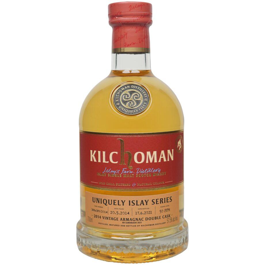 Kilchoman 7 Jahre 2014/2021 – Uniquely Islay Series – Armagnac Finish
