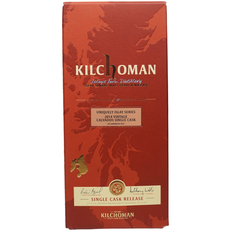 Kilchoman 7 Jahre 2014/2021- Uniquely Islay Series – Calvados Finish