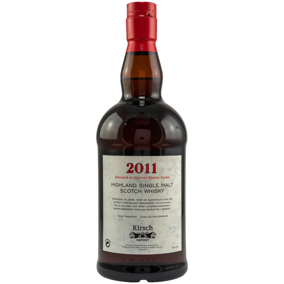 Glenfarclas 2011/2021 – Oloroso Sherry – Kirsch Import